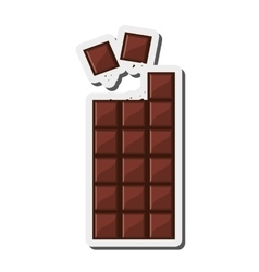 Candy chocolate bar icon vector