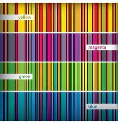 Retro stripes pattern vector
