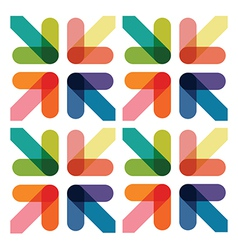colourful arrows vector image