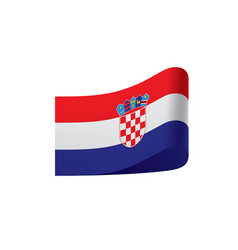 Croatia flag vector