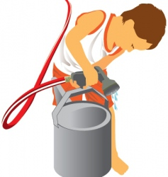 little helper vector image