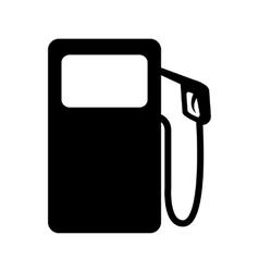 Gas pump icon vector