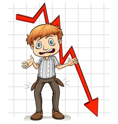 Graph showing a poor man vector