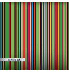 Retro stripes pattern vector image vector image