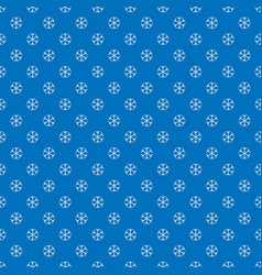 seamless winter snowy background filed with vector image vector image