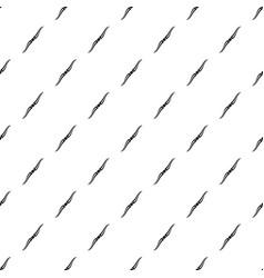 Throwing ninja knife pattern vector
