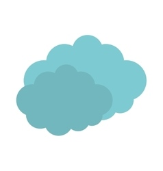 Travel cloud weather concept vector