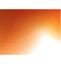 Abstract geometric orange background vector