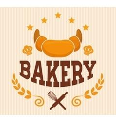 Bakery shop advert vector
