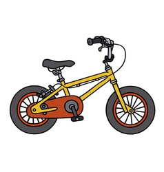 Child bike vector