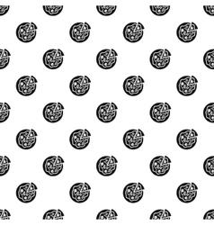 Italian pizza pattern simple style vector