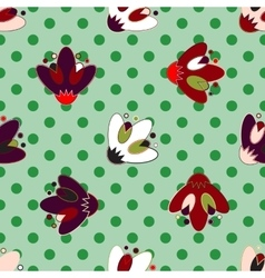 Set of seamless patterns for kid girls vector