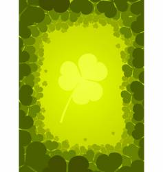 St. Patrick's Day background vector image