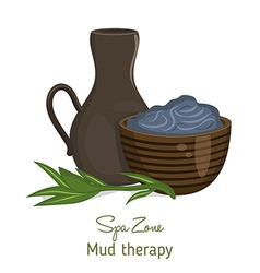 Spa theme object vector