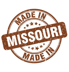 Made in missouri vector