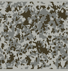 snow flectarn camouflage seamless patterns vector image vector image