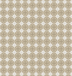 Pattern with circle vector