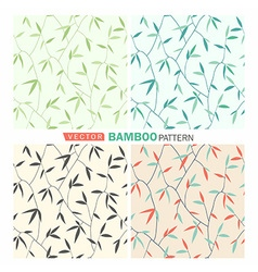 Bamboo pattern vector