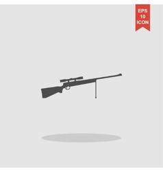 Sniper rifle icon concept for vector
