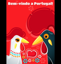 Welcome to Portugal vector image