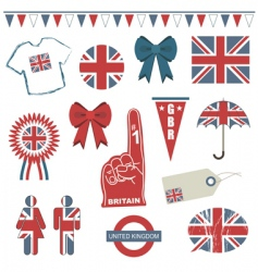 great britain vector image