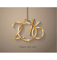 2016 New Year and Happy Christmas background vector image