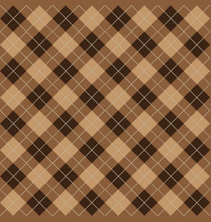argyle seamless pattern vector image vector image