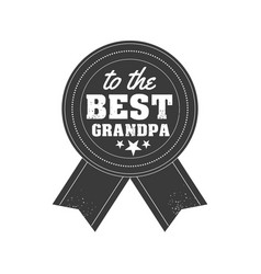 Isolated grandparents day quotes on the white vector