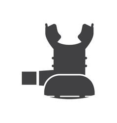 Octo scuba regulator icon vector