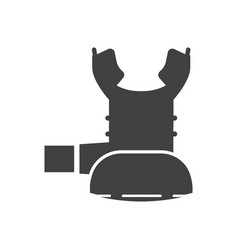 octo scuba regulator icon vector image vector image