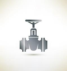 Valve symbol vector image vector image