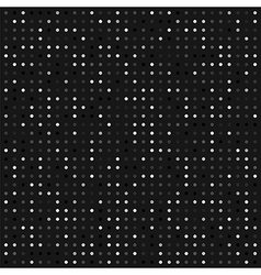 Abstract seamless dotted background vector