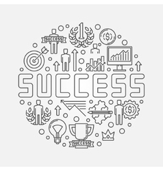 Success concept vector