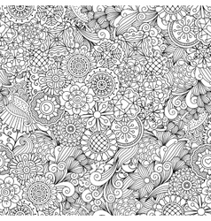 Creative ornamental full frame background vector image