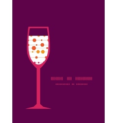 Abstract colorful stripes and shapes wine vector