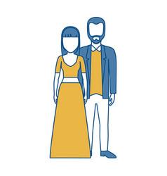 Couple icon image vector