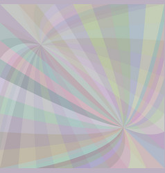 curved ray burst background - design vector image vector image