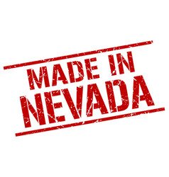Made in nevada stamp vector