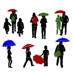 Raining 2 vector image vector image