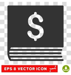 Sales book eps icon vector