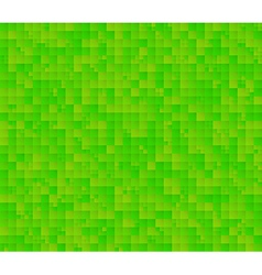Abstract green background with squares vector
