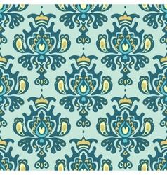 Damask royal seamless pattern vector