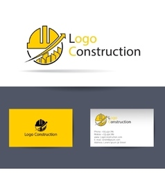 Logo construction Logo Template vector image
