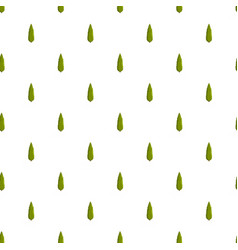Cypress tree pattern seamless vector