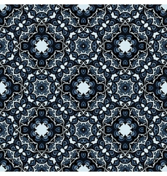 Moasic tiled oriental seamless pattern vector
