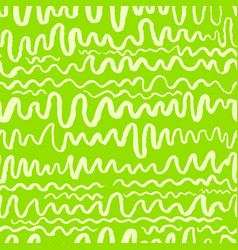 Seamless pattern with waves stripped artistic vector