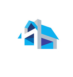 house design concept vector image
