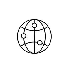browser internet web icon vector image