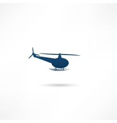 Helicopter - vector image vector image