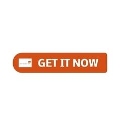 Shop button icon vector image vector image